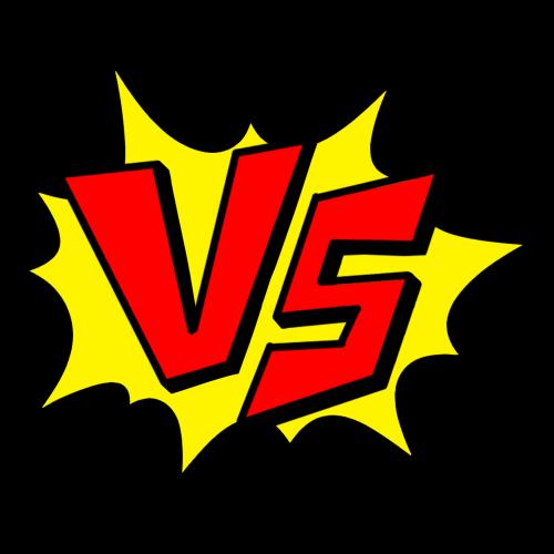 VS(Versus)/対戦マークのイラスト